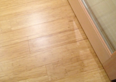In W Prefinished Bamboo Locking Hardwood Flooring Spice