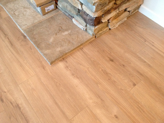 Laminate 21 21 laminate plank flooring install as a for Manufactured hardwood flooring