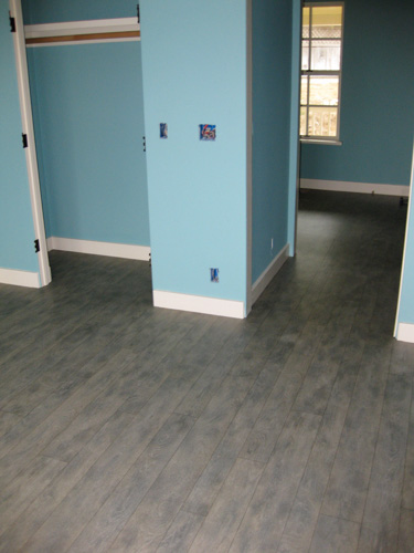 Vinyl Sheet Flooring Installed